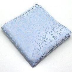 Xin Club - Vine Print Pocket Square