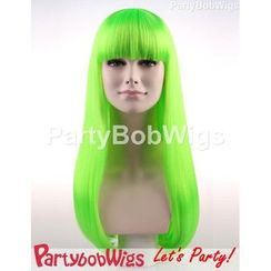 Party Wigs - PartyBobWigs - 派對BOB款長假髮 - 綠色
