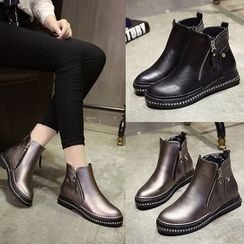 Yoflap - Side Zip Ankle Boots
