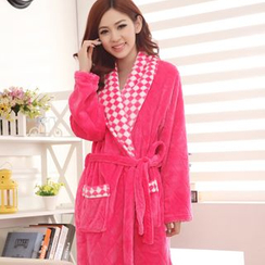 Dreamland - Couple Matching Fleece Night Robe