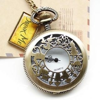 Miss Girl - Engraved Pocket Watch