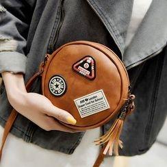 Rosanna Bags - Tasseled Crossbody Round Bag