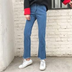 Dute - 散邊牛仔褲