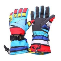 tuban - Print Ski Gloves