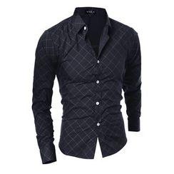 Hansel - 格子長袖襯衫