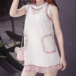 Fashion Street - Set: Lace Tank Dress + Tank dress
