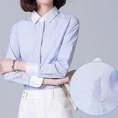 Caroe - Striped Dress Shirt