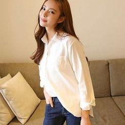 Sienne - Plain Linen Shirt
