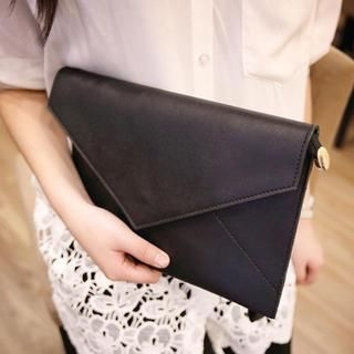 Youshine - Envelope Clutch with Wrist and Chain Strap
