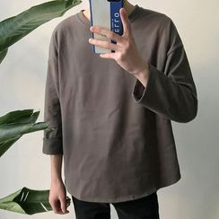 DragonRoad - Plain 3/4 Sleeve T-Shirt