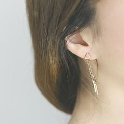MOMENT OF LOVE - Triangle Earrings
