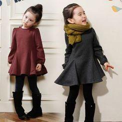 Cuckoo - 童装长袖A字连衣裙
