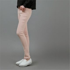 Styleberry - Brushed Fleece Lined Skinny Pants