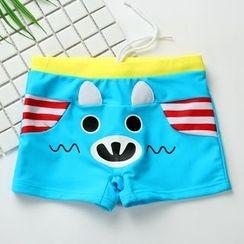 Hokit - Kids Printed Swim Shorts