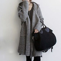 FR - Hooded Sweater Coat