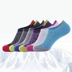 Wild Bamboo - Colour Block Low Socks