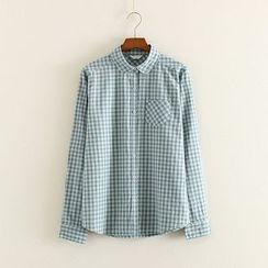 Mushi - Plaid Shirt