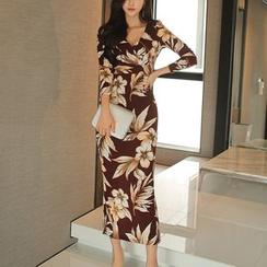 Aurora - Floral Maxi Dress