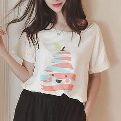 微米家 - 短袖印花T恤