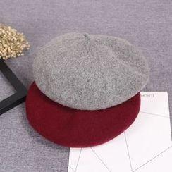 Milliner - 羊毛混纺无边帽