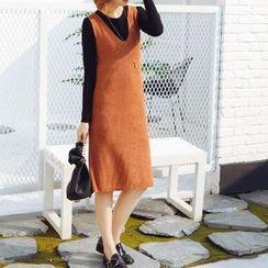 Romantica - 套装: T恤 + 罗纹背心裙