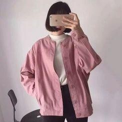 Dute - Buttoned Lightweight Jacket