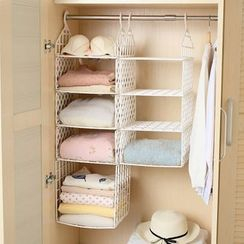 Lazy Corner - Hanging Closet Shelves