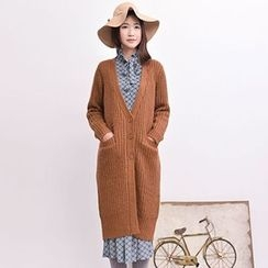 Yammi - Long Knit Cardigan