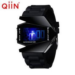 qiin - 錶帶電子手錶