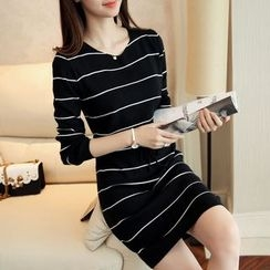 Yamster - Stripe Knit Dress