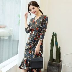 NINETTE - Floral Sheath Dress