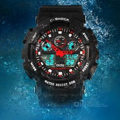 Aidis - LED Sport Analog Digital Watch