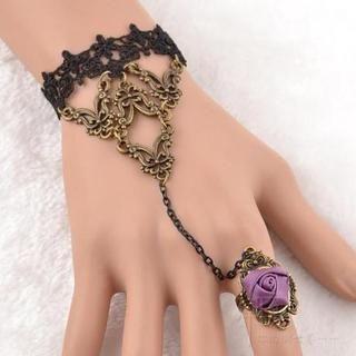 Trend Cool - Crochet Ring Bracelet