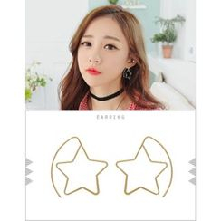 soo n soo - Star Dangle Earrings