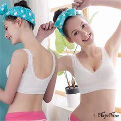 Naya Nina - Lace Elasticized Sporty Wireless Bra