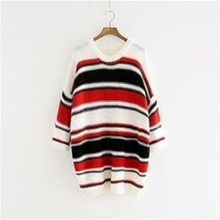 Storyland - Striped Long Sweater