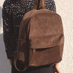 Bolso - Corduroy Backpack