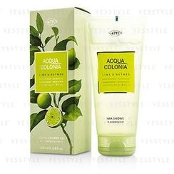 4711 - Acqua Colonia Lime and Nutmeg Aroma Shower Gel