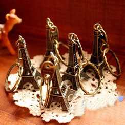 Lover's Kiss - Eiffel Tower Key Chain
