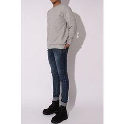 Ohkkage - Colored Fleece-Lined T-Shirt