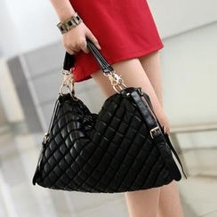59th Street - Quilted Satchel