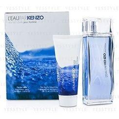 Kenzo - LEau Par Kenzo Coffret: Eau De Toilette Spray 100ml/3.4oz + Hair and Body Shampoo 75ml/2.5oz