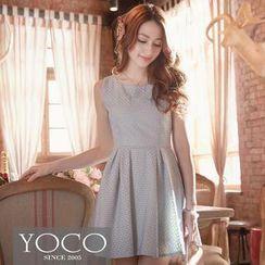 Tokyo Fashion - Sleeveless A-Line Lace Dress