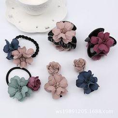 Aurabe - Flower Hair Tie / Hair Claw