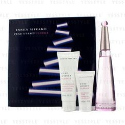 Issey Miyake - LEau DIssey Florale Coffret: Eau De Toilette Spray 90ml/3oz + Body Lotion 75ml/2.5oz + Shower Gel 30ml/1oz