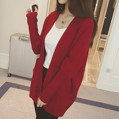 Eva Fashion - V-Neck Long Cardigan