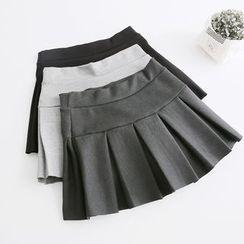PP家 - 打褶裥裙