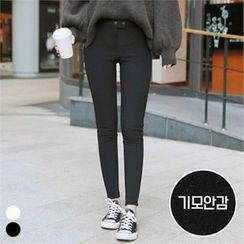 PINKSISLY - Brushed Fleece Lined Skinny Pants