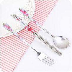 Good Living - Floral Cutlery Set