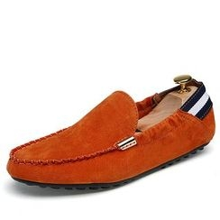 NOVO - Faux Suede Loafers
